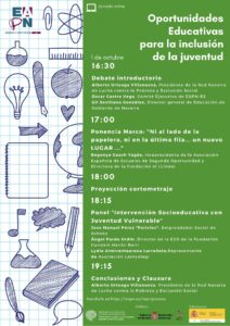 """Seminario """"Oportunidades Educativas para la inclusión de la juventud"""""""