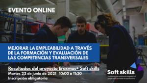 Evento - Mejorar la empleabilidad a través de la formación y evaluación de las competencias transversales